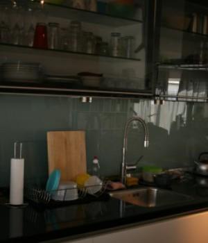 Keukenwanden glas